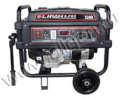 Бензиновый генератор LIFAN S-PRO 3200 мощностью 3.1 кВт