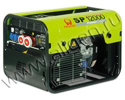 Портативный бензиновый генератор Pramac SP 12000 мощностью 11.1 кВт