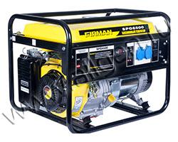 Портативный генератор FIRMAN SPG6500 мощностью 5.5 кВт)