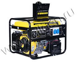 Портативный генератор FIRMAN SPG6500E1+ATS мощностью 5.5 кВт)