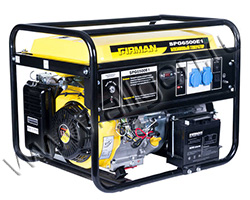 Портативный генератор FIRMAN SPG6500E1 мощностью 5.5 кВт)
