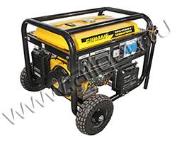 Портативный генератор FIRMAN SPG6500E2 мощностью 5.5 кВт)