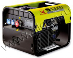 Портативный генератор Pramac S 12000 мощностью 9 кВт)