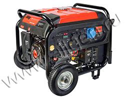 Портативный генератор Fubag TI 7000 A ES мощностью 9 кВт)