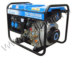 Бензиновый генератор ТСС TSS SDG 4000 E