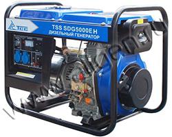 Портативный генератор ТСС TSS SDG 5000 EH мощностью 5.5 кВт)