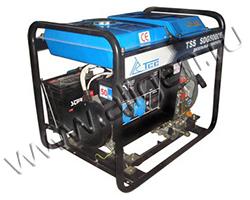 Портативный генератор ТСС TSS SDG 5000 E мощностью 5.5 кВт)