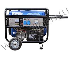 Портативный генератор ТСС TSS SGG 5000 EH мощностью 5.5 кВт)