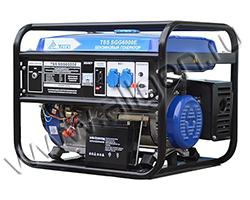 Портативный генератор ТСС TSS SGG 6000 E мощностью 6.5 кВт)