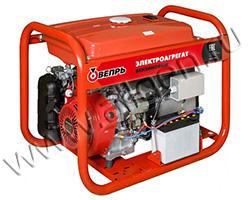 Портативный генератор Вепрь АБП 7/4-Т400/230 ВХ-БГ мощностью 6.16 кВт)