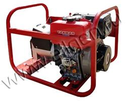 Портативный генератор Вепрь АДП 6,5/3,2-Т400/230 ВЯ-Б мощностью 5.76 кВт)