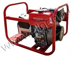Портативный генератор Вепрь АДП 6,5/3,2-Т400/230 ВЯ-БС мощностью 5.76 кВт)