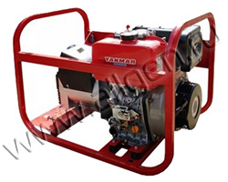 Портативный генератор Вепрь АДП 6,5/3,2-Т400/230 ВЯ-С мощностью 5.76 кВт)