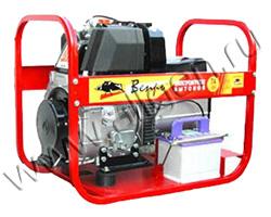 Портативный генератор Вепрь АДП 7/4-Т400/230 ВЛ-БС мощностью 6.16 кВт)