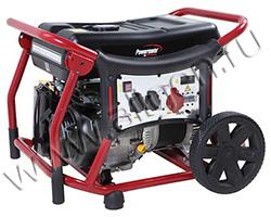 Портативный генератор Pramac WX 6250 мощностью 6 кВт)