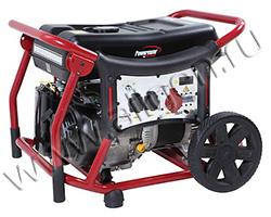 Портативный генератор Pramac WX 6250 ES мощностью 6 кВт)