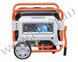 Портативный генератор Zongshen XB 6000 E мощностью 5.5 кВт)