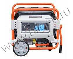 Портативный генератор Zongshen XB 7000 E мощностью 6.5 кВт)