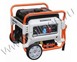 Портативный генератор Zongshen XB 7003 E  мощностью 6.5 кВт)