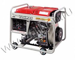 Портативный генератор Yanmar YDG6600TN-5EB мощностью 5.5 кВт)
