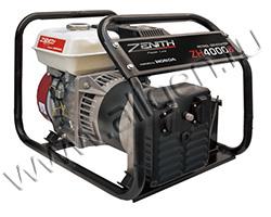 Бензиновый генератор Zenith ZH4000S