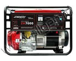 Портативный генератор Zenith ZH7000 мощностью 6.2 кВт)
