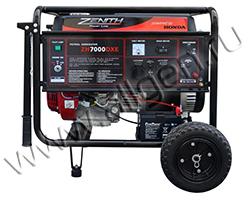 Портативный генератор Zenith ZH7000Е мощностью 5.5 кВт)