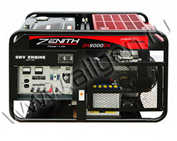 Бензиновый генератор Zenith ZH9000DXE