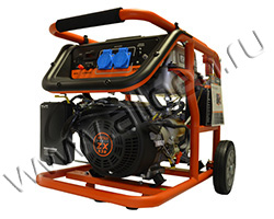 Бензиновый генератор Mitsui Power ZM 5500 E