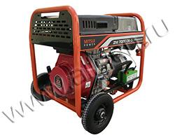 Портативный генератор Mitsui Power ZM 7000 DE-3 мощностью 6.5 кВт)