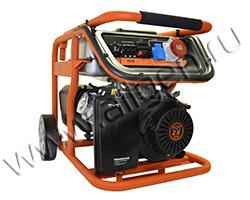Портативный генератор Mitsui Power ZM 7500 E-3 мощностью 6.5 кВт)