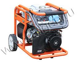 Портативный генератор Zongshen KB 7000 мощностью 6.5 кВт)