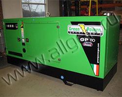 Поставка генератора Green Power GP110A/V в Феодосию