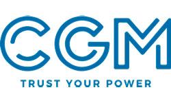 Логотип компании CGM