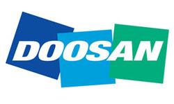 Логотип компании Doosan (Южная Корея)
