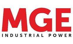 Логотип компании MGE