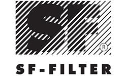 Логотип компании SF-FILTER (Швейцария)